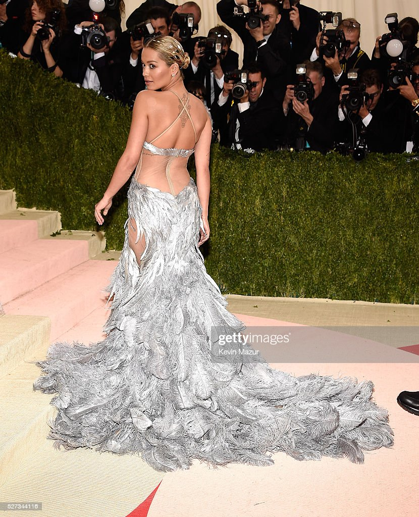 Rita Ora attends 'Manus x Machina: Fashion In An Age Of Technology' Costume Institute Gala at Metropolitan Museum of Art on May 2, 2016 in New York City.