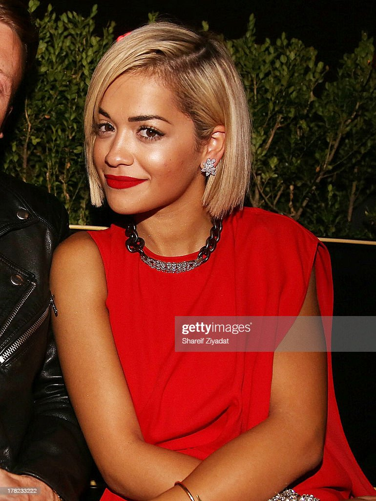 <a gi-track='captionPersonalityLinkClicked' href=/galleries/search?phrase=Rita+Ora&family=editorial&specificpeople=5686485 ng-click='$event.stopPropagation()'>Rita Ora</a> attends the 2013 VMA After Party at PhD (Dream Downtown Hotel Rooftop) on August 25, 2013 in New York City.