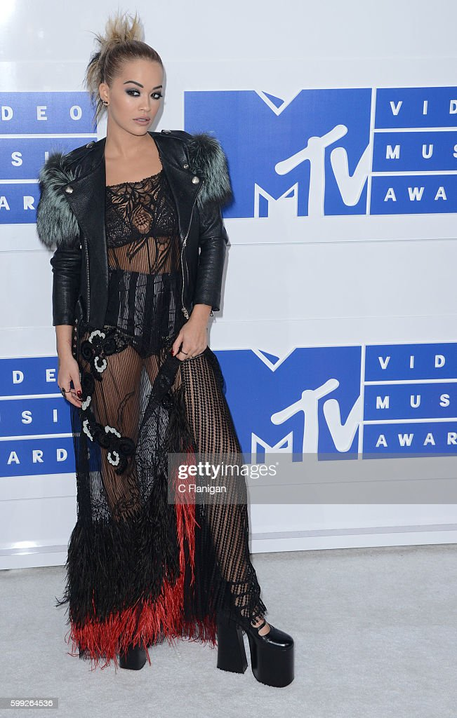 Rita Ora attends the 2016 MTV Video Music Awards at Madison Square Garden on August 28, 2016 in New York City.