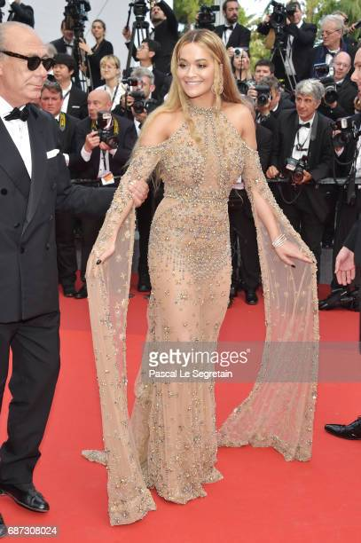 Rita Ora attends the 70th Anniversary of the 70th annual Cannes Film Festival at Palais des Festivals on May 23 2017 in Cannes France