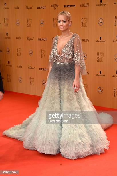 Rita Ora attends the Bambi Awards 2015 at Stage Theater on November 12 2015 in Berlin Germany