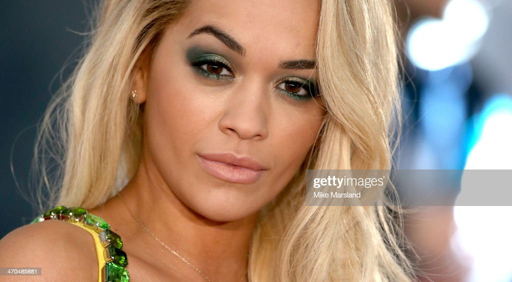 <a gi-track='captionPersonalityLinkClicked' href=/galleries/search?phrase=Rita+Ora&family=editorial&specificpeople=5686485 ng-click='$event.stopPropagation()'>Rita Ora</a> attends The BRIT Awards 2014 at 02 Arena on February 19, 2014 in London, England.