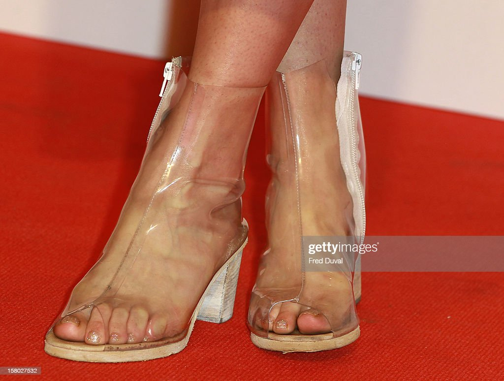 Rita Ora (shoe detail) attends the Capital FM Jingle Bell Ball at 02 Arena on December 9, 2012 in London, England.