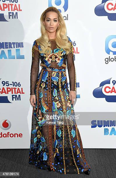 Rita Ora attends the Capital FM Summertime Ball at Wembley Stadium on June 6 2015 in London England