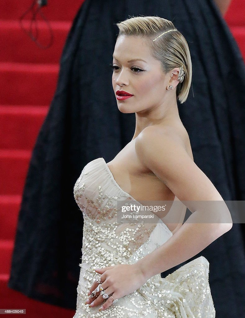 Rita Ora attends the 'Charles James: Beyond Fashion' Costume Institute Gala at the Metropolitan Museum of Art on May 5, 2014 in New York City.