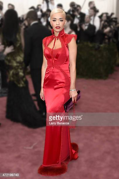 Rita Ora attends the 'China Through The Looking Glass' Costume Institute Benefit Gala at the Metropolitan Museum of Art on May 4 2015 in New York City