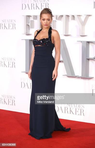 Rita Ora attends the 'Fifty Shades Darker' UK Premiere on February 9 2017 in London United Kingdom