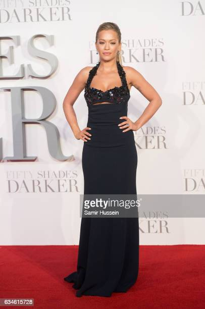 Rita Ora attends the 'Fifty Shades Darker' UK Premiere on February 9 2017 in London United Kingdom