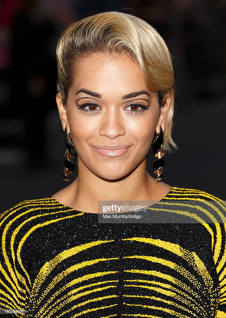 Rita Ora attends the GQ Men of the Year awards at The Royal Opera House on September 3, 2013 in London, England.
