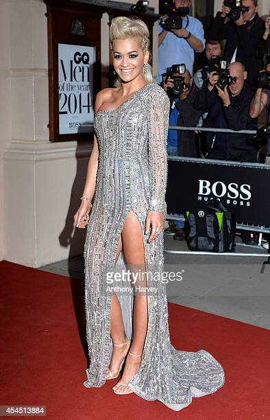 Rita Ora attends the GQ Men of the Year awards at The Royal Opera House on September 2 2014 in London England