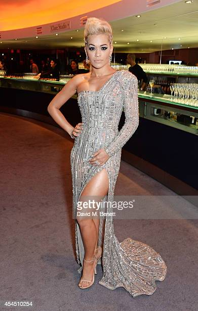 Rita Ora attends the GQ Men Of The Year awards in association with Hugo Boss at The Royal Opera House on September 2 2014 in London England