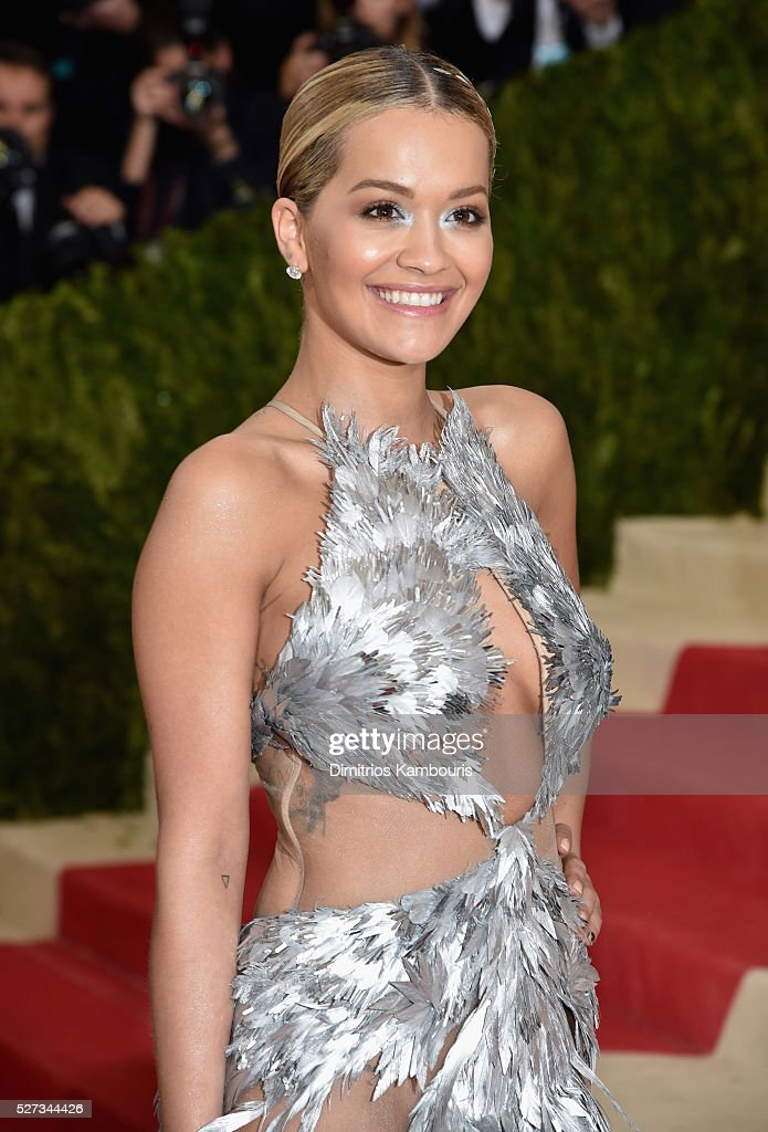Rita Ora attends the 'Manus x Machina: Fashion In An Age Of Technology' Costume Institute Gala at Metropolitan Museum of Art on May 2, 2016 in New York City.