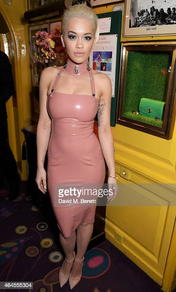 Rita Ora attends the Mert Marcus House of Love party for Madonna at Annabel's on February 26 2015 in London England