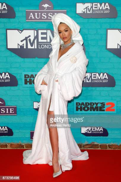 Rita Ora attends the MTV EMAs 2017 held at The SSE Arena Wembley on November 12 2017 in London England