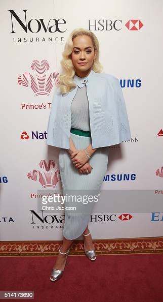 Rita Ora attends The Prince's Trust Celebrate Success Awards at London Palladium on March 7 2016 in London England
