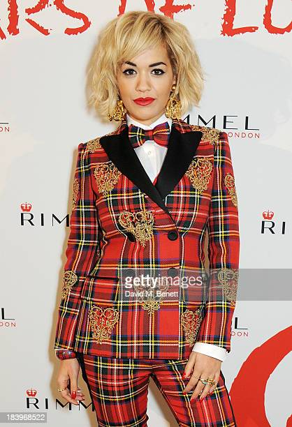 Rita Ora attends the Rimmel London 180 Years of Cool party at the London Film Museum on October 10 2013 in London England