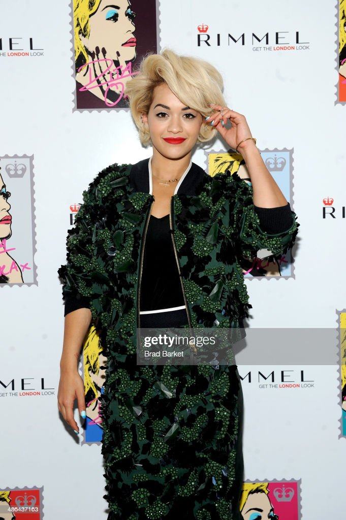 <a gi-track='captionPersonalityLinkClicked' href=/galleries/search?phrase=Rita+Ora&family=editorial&specificpeople=5686485 ng-click='$event.stopPropagation()'>Rita Ora</a> attends the Rimmel London press preview at The Mercer Hotel on April 24, 2014 in New York City.