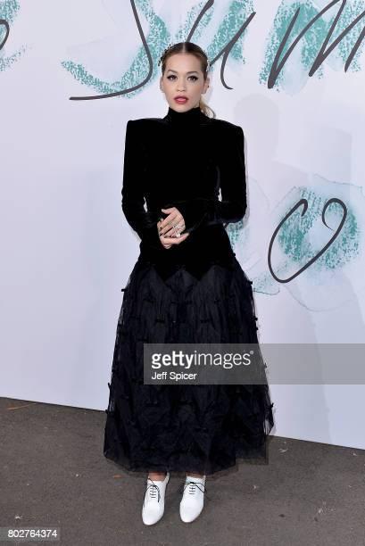 Rita Ora attends The Serpentine Galleries Summer Party at The Serpentine Gallery on June 28 2017 in London England