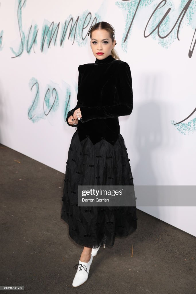 Rita Ora attends the Summer Party 2017 presented by Serpentine and Chanel at The Serpentine Gallery on June 28, 2017 in London, England.
