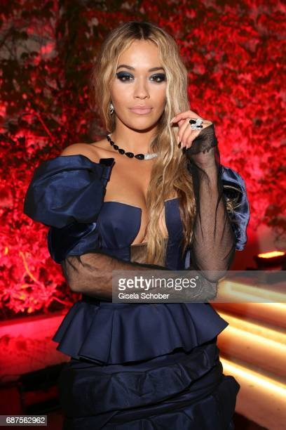 Rita Ora during the DeGrisogono 'Love On The Rocks' gala during the 70th annual Cannes Film Festival at Hotel du CapEdenRoc on May 23 2017 in Cap...