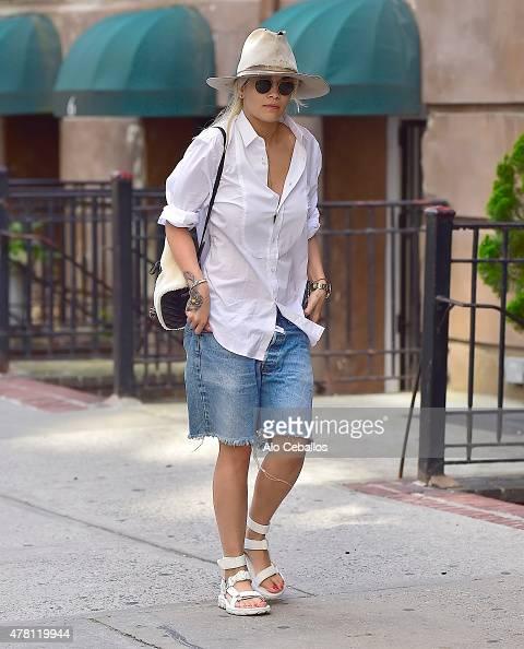 Rita Ora is seen in Soho on June 22 2015 in New York City