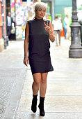 Rita Ora is seen in Soho on June 23 2015 in New York City