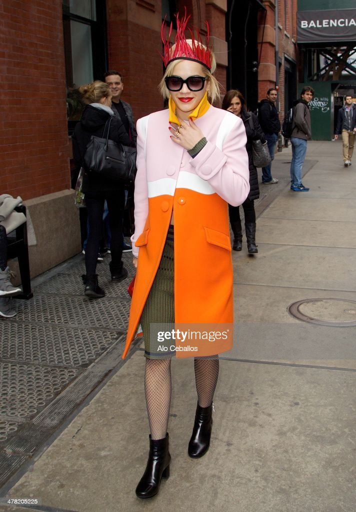 <a gi-track='captionPersonalityLinkClicked' href=/galleries/search?phrase=Rita+Ora&family=editorial&specificpeople=5686485 ng-click='$event.stopPropagation()'>Rita Ora</a> is seen in Soho on March 12, 2014 in New York City.