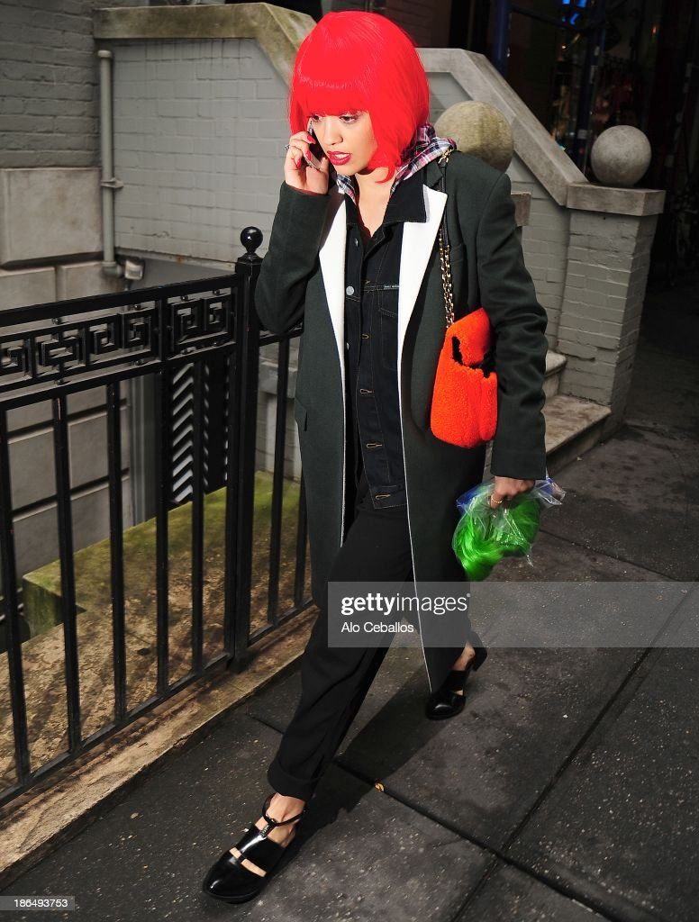 <a gi-track='captionPersonalityLinkClicked' href=/galleries/search?phrase=Rita+Ora&family=editorial&specificpeople=5686485 ng-click='$event.stopPropagation()'>Rita Ora</a> is seen in the East Village on October 31, 2013 in New York City.