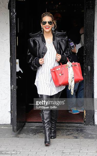 Rita Ora is seen on August 11 2012 in London United Kingdom