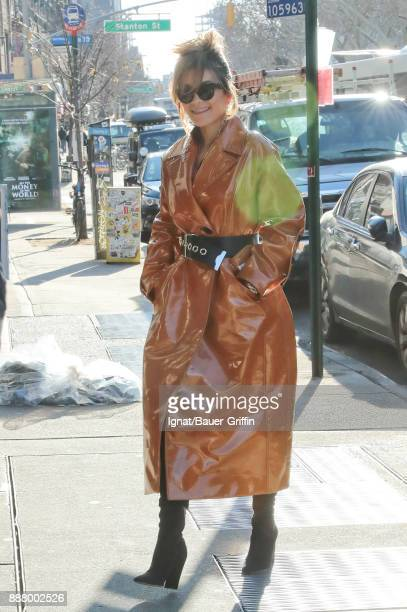 Rita Ora is seen on December 07 2017 in New York City