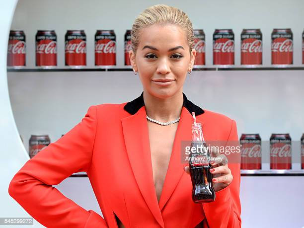 Rita Ora Launches New And Improved CocaCola Zero Sugar on July 8 2016 in London England