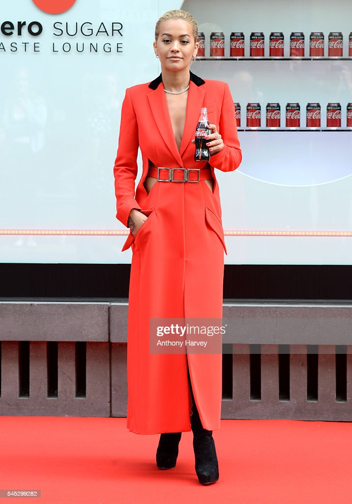 Rita Ora Launches New And Improved Coca-Cola Zero Sugar