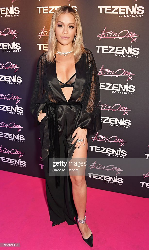 Rita Ora Relaunches Tezenis Oxford Circus With Intimate Gig : News Photo