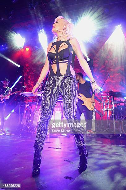 Rita Ora performs at Irving Plaza on September 14 2015 in New York New York