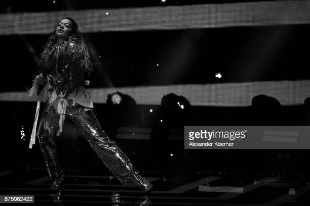 Rita Ora performs during the Bambi Awards 2017 at Stage Theater on November 16 2017 in Berlin Germany