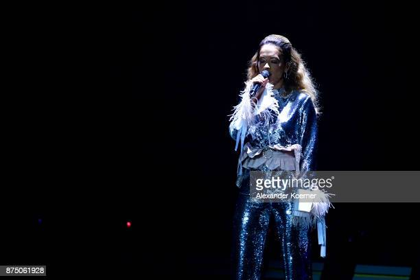 Rita Ora performs during the Bambi Awards 2017 show at Stage Theater on November 16 2017 in Berlin Germany
