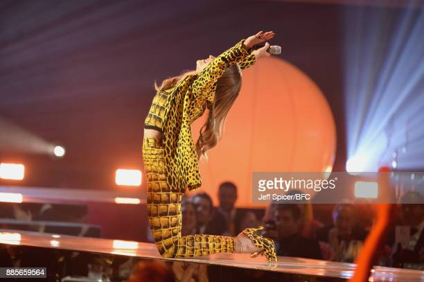 Rita Ora performs on stage during The Fashion Awards 2017 in partnership with Swarovski at Royal Albert Hall on December 4 2017 in London England