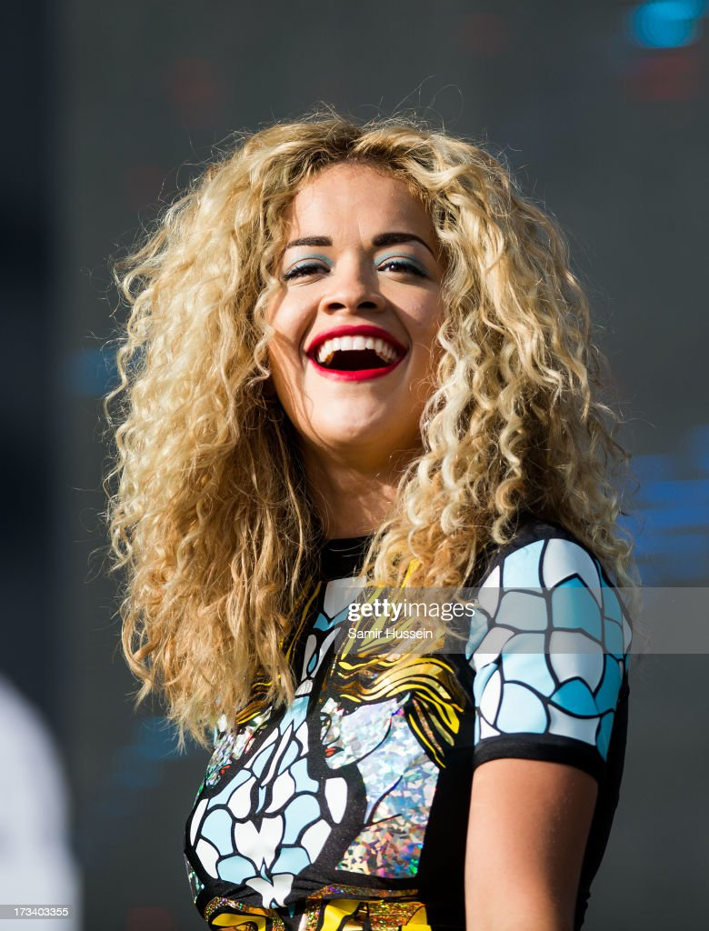 <a gi-track='captionPersonalityLinkClicked' href=/galleries/search?phrase=Rita+Ora&family=editorial&specificpeople=5686485 ng-click='$event.stopPropagation()'>Rita Ora</a> performs on the main stage on day 2 of the Yahoo! Wireless Festival at Queen Elizabeth Olympic Park on July 13, 2013 in London, England.