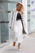 Rita Ora seen at a studio on March 28 2014 in London England