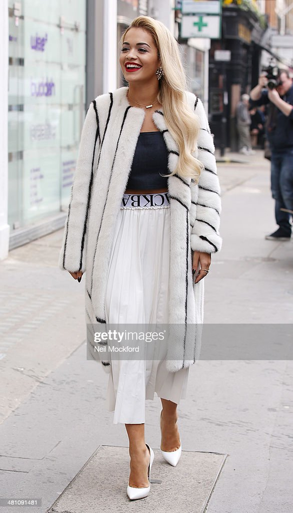 <a gi-track='captionPersonalityLinkClicked' href=/galleries/search?phrase=Rita+Ora&family=editorial&specificpeople=5686485 ng-click='$event.stopPropagation()'>Rita Ora</a> seen at a studio on March 28, 2014 in London, England.