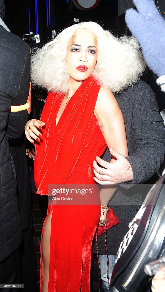 <a gi-track='captionPersonalityLinkClicked' href=/galleries/search?phrase=Rita+Ora&family=editorial&specificpeople=5686485 ng-click='$event.stopPropagation()'>Rita Ora</a> sighting on November 26, 2013 in London, England.