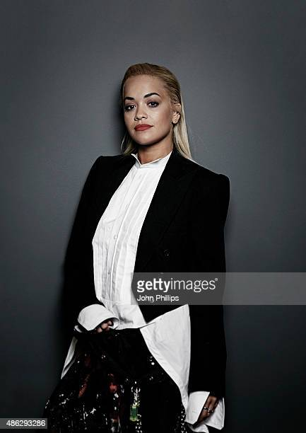 Rita Ora visits Kiss FM Studio's on September 3 2015 in London England