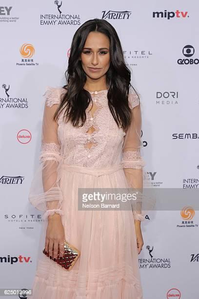 Rita Pereira attends the 44th International Emmy Awards at New York Hilton on November 21 2016 in New York City
