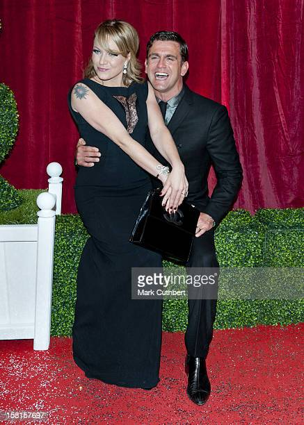 Rita Simons And Scott Maslen Arriving For The 2012 British Soap Awards At Itv London Studios South Bank London