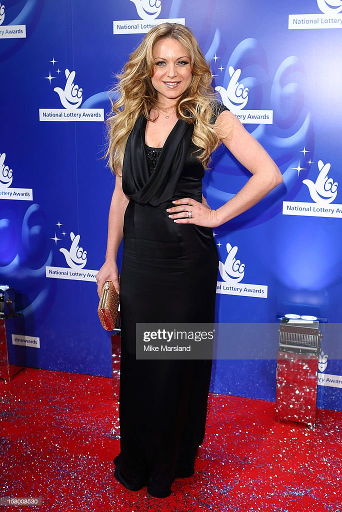 Rita Simons attends The National Lottery Awards 2012, celebrating the UK's favourite Lottery-funded projects and the difference they make to their communities at The London Studios on December 8, 2012 in London, England.