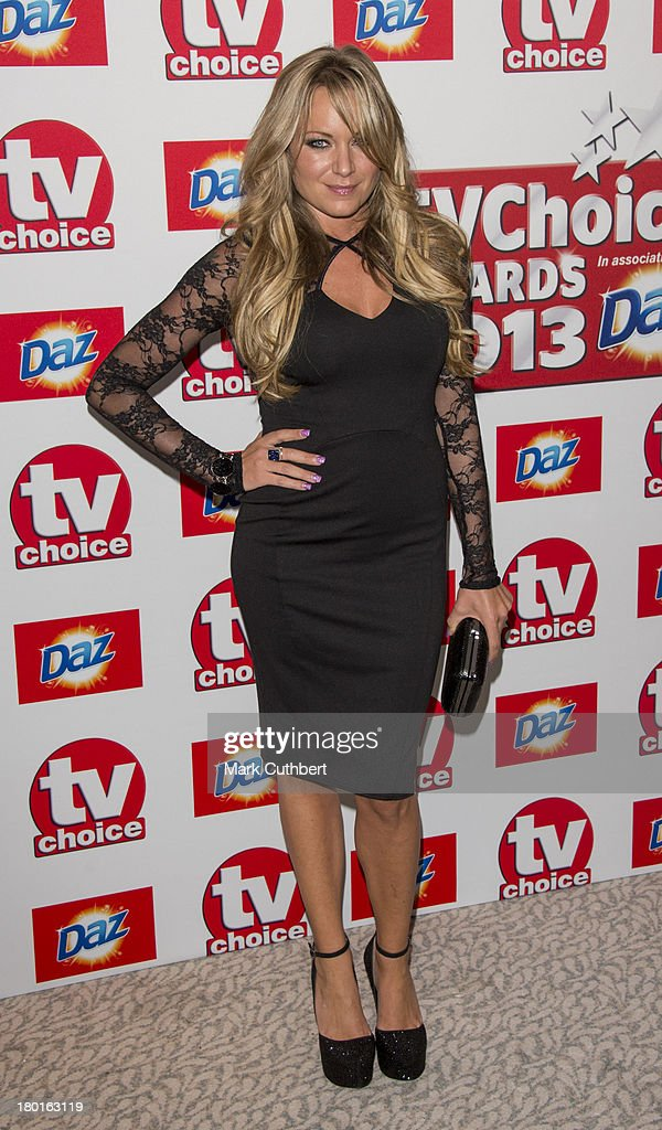 Rita Simons attends the TV Choice Awards 2013 at The Dorchester on September 9, 2013 in London, England.