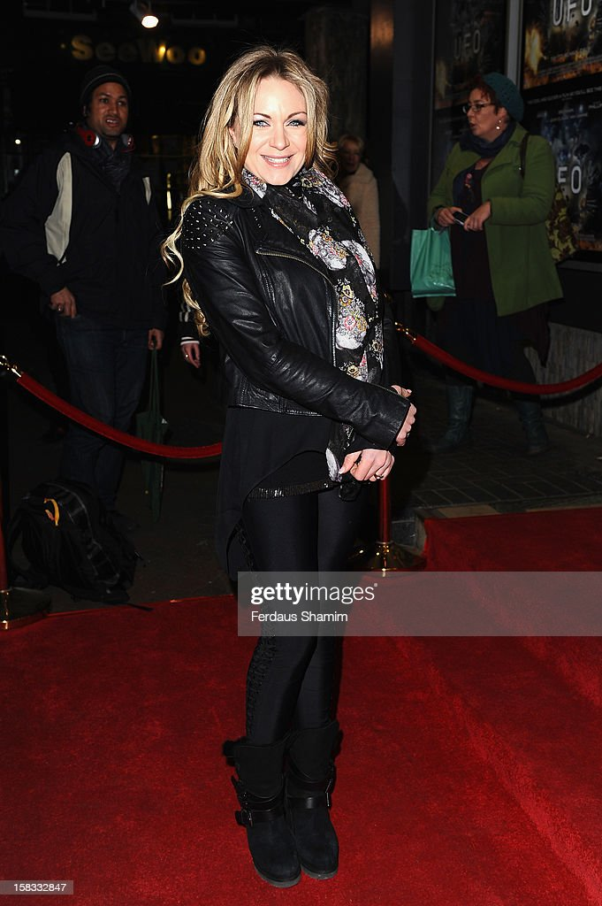 Rita Simons attends the UK Premiere of 'UFO' on December 13, 2012 in London, England.