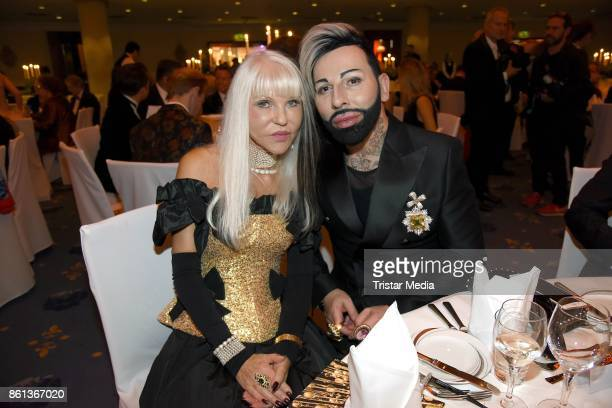 Rita Thea Schmidt and Harald Gloeoeckler attend the 29 KoelnBall on October 14 2017 in Cologne Germany