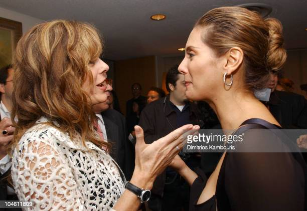 Rita Wilson and Alex Meneses during 40th New York Film Festival Screening of 'Auto Focus' at Alice Tully Hall in New York New York United States