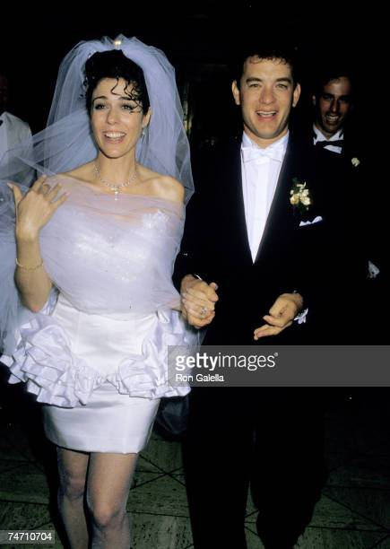 Rita Wilson and Tom Hanks at the Rex's in California